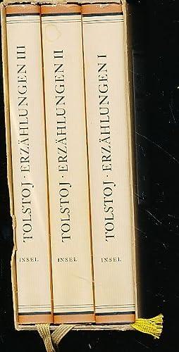 Sämtliche Erzählungen. 3 Bände. Hrsg. von Gisela Drohla.: Tolstoj, Leo N.: