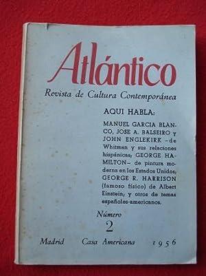 ATLÁNTICO. Revista de Cultura Contemporánea. Número 2,: Varios autores Dibujos