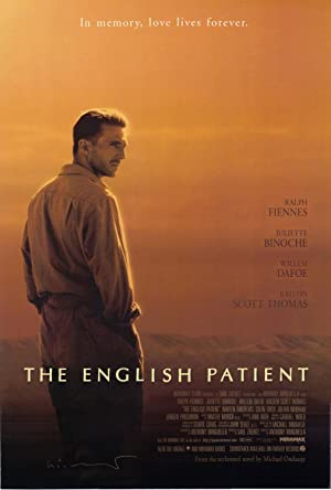 The English Patient. Film Poster.