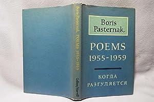 Poems 1955-1959 : First printing: Pasternak, Boris