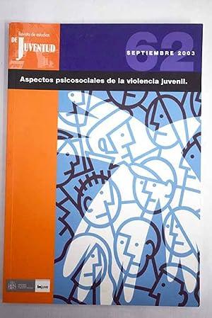 Revista de estudios de juventud, Número 62,