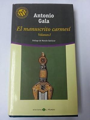 El manuscrito carmesi I: Antonio Gala