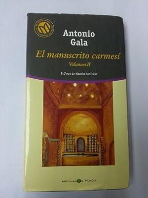 El manuscrito carmesi II: Antonio Gala