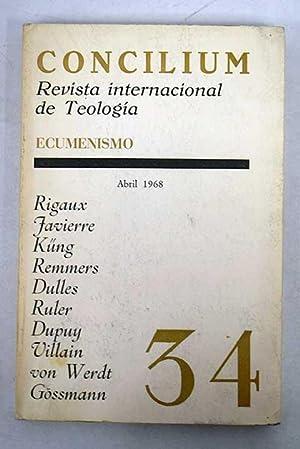 Concilium: revista internacional de teología. Núm 34
