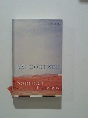 Sommer des Lebens: Coetzee, J.M.: