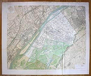 """Neuilly-sur-Seine"""" - Neuilly-sur-Seine Puteaux Courbevoie Suresnes plan de la ville city map ..."""