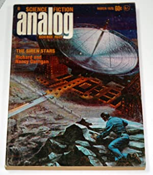 Analog Science Fiction Science Fact March 1970: John W. Campbell