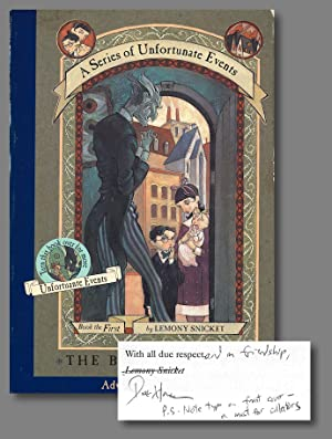A SERIES OF UNFORTUNATE EVENTS BOOK THE FIRST THE BAD BEGINNING [bound dos-a-dos with:] . BOOK TH...