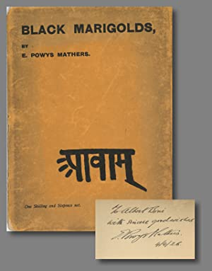 BLACK MARIGOLDS BEING A RENDERING INTO ENGLISH OF THE