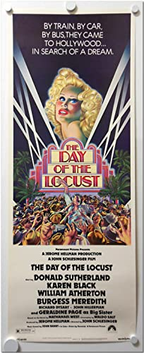 [Original Studio Insert Poster for:] THE DAY OF THE LOCUST