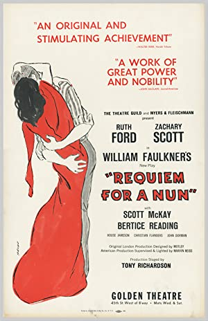 [Theatrical Window Card Poster for:] REQUIEM FOR A NUN