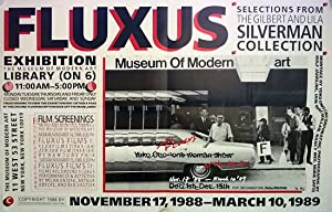 FLUXUS SELECTIONS FROM THE GILBERT AND LILA SILVERMAN COLLECTION . [caption]