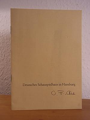 Die echten Sedemunds. Drama von Ernst Barlach.: Deutsches Schauspielhaus in