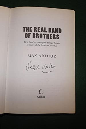 THE REAL BAND OF BROTHERS: First -Hand: ARTHUR, Max
