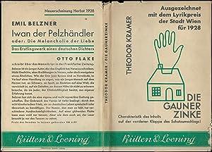 Die Gaunerzinke. Gedichte.: KRAMER, Theodor:
