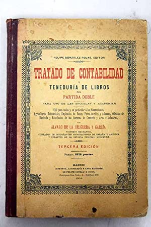 Tratado de Contabilidad y Teneduría de libros: Helguera y García,