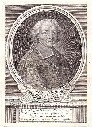 """Felix Vialar"""" - Felix Vialar comte de Chalon gravure Portrait Kupferstich antique print: ..."""