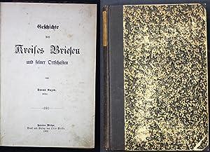 Geschichte des Kreises Briesen und seiner Ortschaften: Heym, Benno: