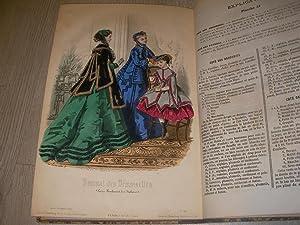 JOURNAL DES DEMOISELLES 1867 - TRENTE-CINQUIEME ANNEE: COLLECTIF