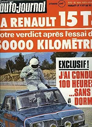 L'AUTO JOURNAL N° 9 - Auto : COLLECTIF
