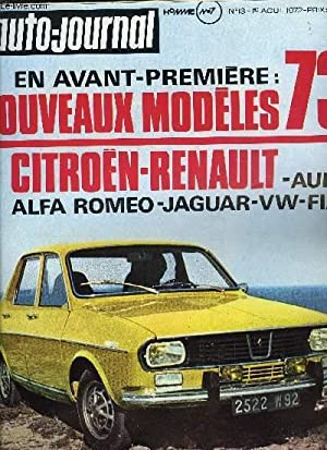 L'AUTO JOURNAL N° 13 - 50 000: COLLECTIF