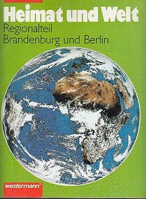 Heimat Und Welt Regionalteil Brandenburg Und Berlin 1992 Antiquariat Tautenhahn