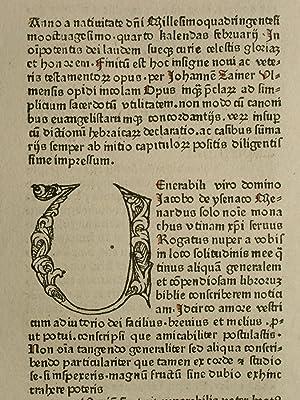 Biblia, lat. (GW 4242, HC 3079). Blatt