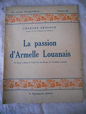 La passion d'Armelle Louanais: Charles Geniaux