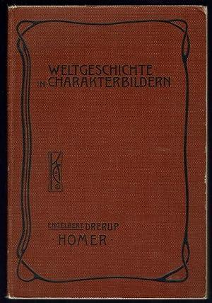 anfänge der hellenischen kultur. - Homer