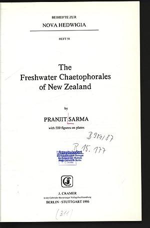 The Freshwater Chaetophorales of New Zealand. Beihefte: Sarma, Pranjit,