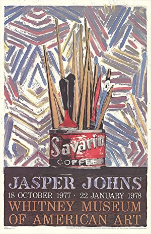 "JASPER JOHNS Savarin Cans-Monotype 45.5"" x 29.5"": Johns, Jasper"