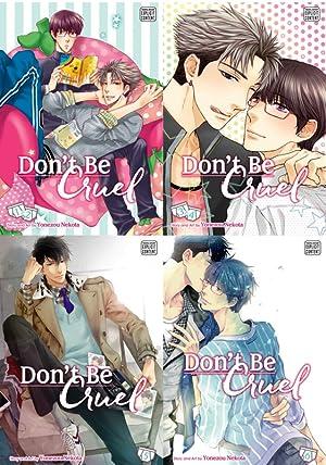 MANGA Don't Be Cruel 1-6 in 4 Volumes 1-4 TP: Nekota, Yonezou