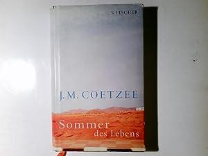 Sommer des Lebens : Roman. Aus dem: Coetzee, J. M.