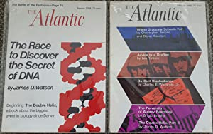 'The Double Helix'. Pp. 76-99 in: The Atlantic Monthly, Jan., 1968, and pp. 91-117 in ibid,...