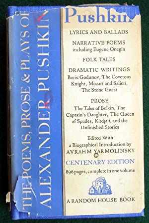THE WORKS OF ALEXANDER PUSHKIN: LYRICS, NARRATIVE: Pushkin, Alexander