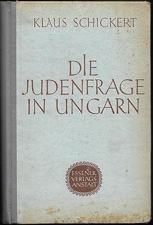 Die Judenfrage in Ungarn. Jüdische Assimilation und antisemitische Bewegung im 19. und 20. ...