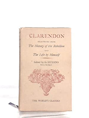 "Clarendon, Selections from ""The History of the: G. Huehns"