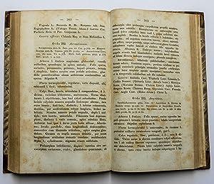Ordines naturales plantarum eorumque characteres et affinitates adiecta generum enumeratione: ...