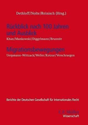 Rückblick nach 100 Jahren und Ausblick - Migrationsbewegungen : Migrationsbewegungen: Nina Dethloff