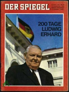 Bild des Verkäufers für 18/1964, 200 Tage Ludwig Erhard zum Verkauf von Antiquariat Artemis Lorenz & Lorenz GbR