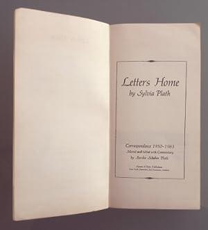 Letters Home: Correspondence 1950-1963. PRUEBA DE IMPRENTA: Sylvia Plath, Aurelia