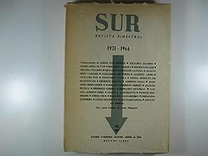 REVISTA BIMESTRAL SUR, 1931-1966.: NÚMERO 298-299: DIR. VICTORIA OCAMPO