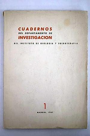 Cuadernos del Departamento de Investigación del Instituto