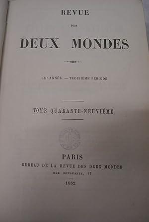 L'Abbe Constantin, premiere, deuxieme + derniere partie, in: REVUE DES DEUX MONDES. LIIe annee....