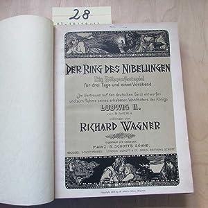 Der Ring des Nibelungen - Ein Bühnenfestspiel für drei Tage und einen Vorabend (Im Vertrauen auf ...