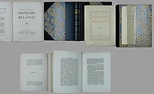 Pastiches et Mélanges.: Proust, Marcel: