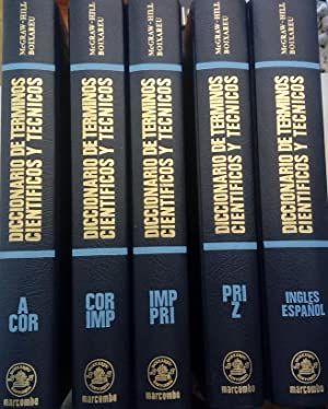 Diccionario de términos científicos y técnicos (5 tomos): Daniel L. Lapedes (redactor jefe)