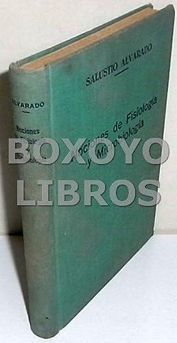 Nociones de Fisiología y Microbiología. Primera edición: ALVARADO, Salustio