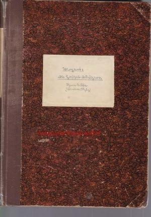 Die Hochzeit des Figaro. Opera buffa in 4 Acten.,Klavierauszug. 8087.,: Mozart, W. A.