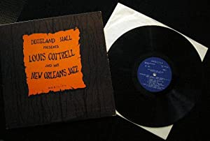 Dixieland Hall Presents Louis Cottrell and His New Orleans Jazz Band - Signed By Louis Cottrell - ...